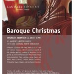 Baroque Christmas with Laudate Singers & Instrumentalists