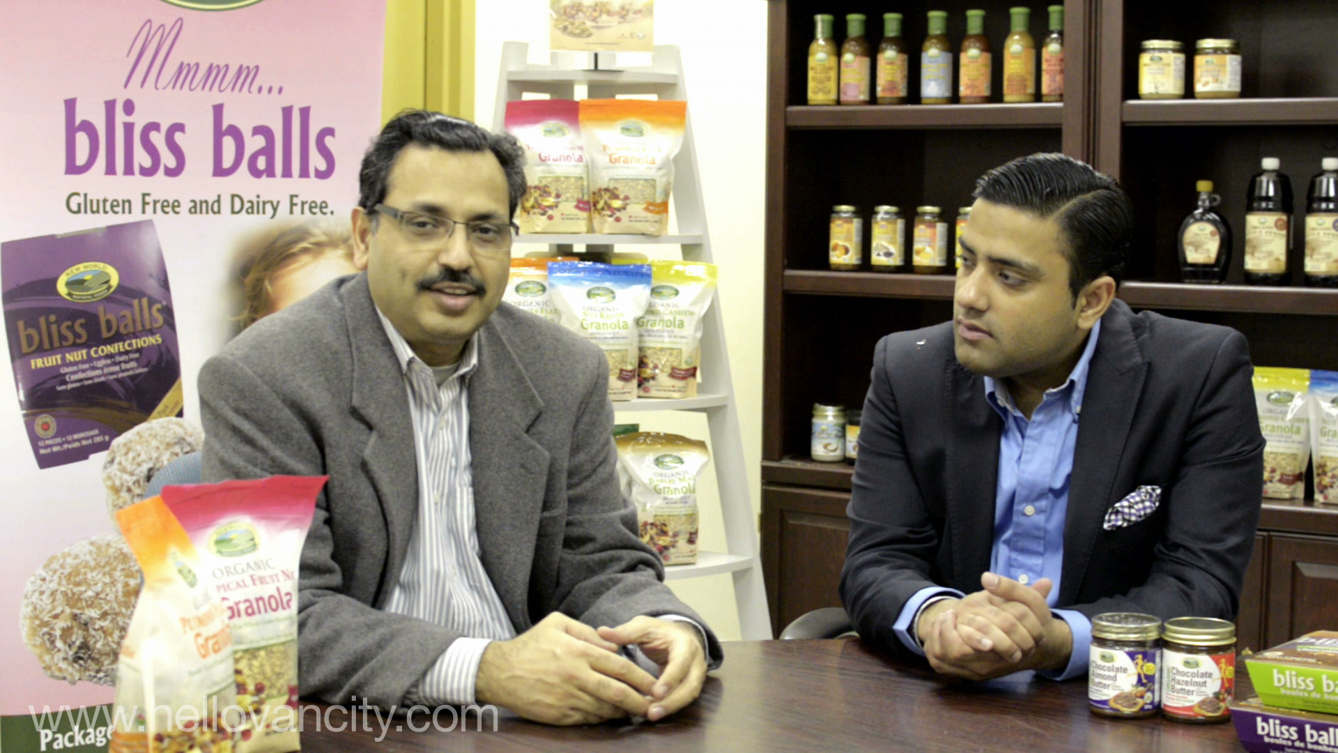 Rajinder and Rattan Bagga, Owners of New World Natural Foods
