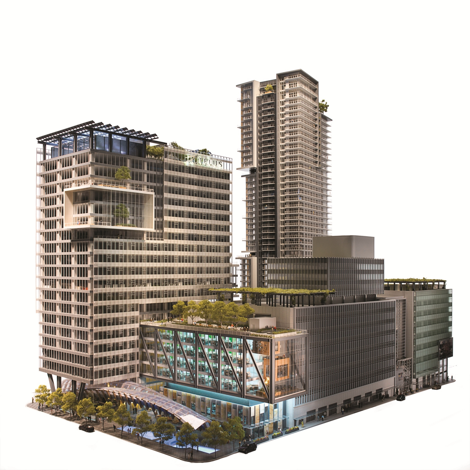 Telus plan for second-tallest tower in Vancouver now includes condominium units - Downtown Vancouver Real Estate News March 2012