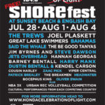 SHOREfest at Sunset Beach & English Bay – July 28, August 1 & 4, 2012