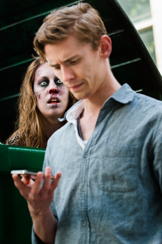 The Zombie Syndrome - an interactive theatre adventure on the streets of Vancouver - October 13 - 31, 2012