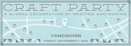 3rd Annual Vancouver Etsy Craft Party at BLIM on September 7, 2012