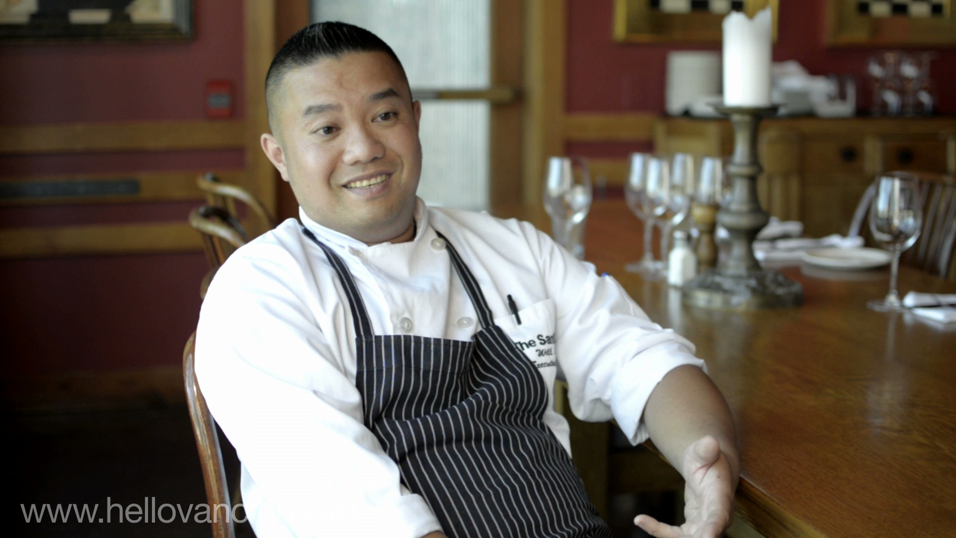 Chef William Tse - Executive Chef of Sandbar Seafood Restaurant, Granville Island