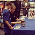 Hundred of hockey fans flocked to EB Games in Metropolis at Metrotown to be among the first to get EA Sports NHL 13.