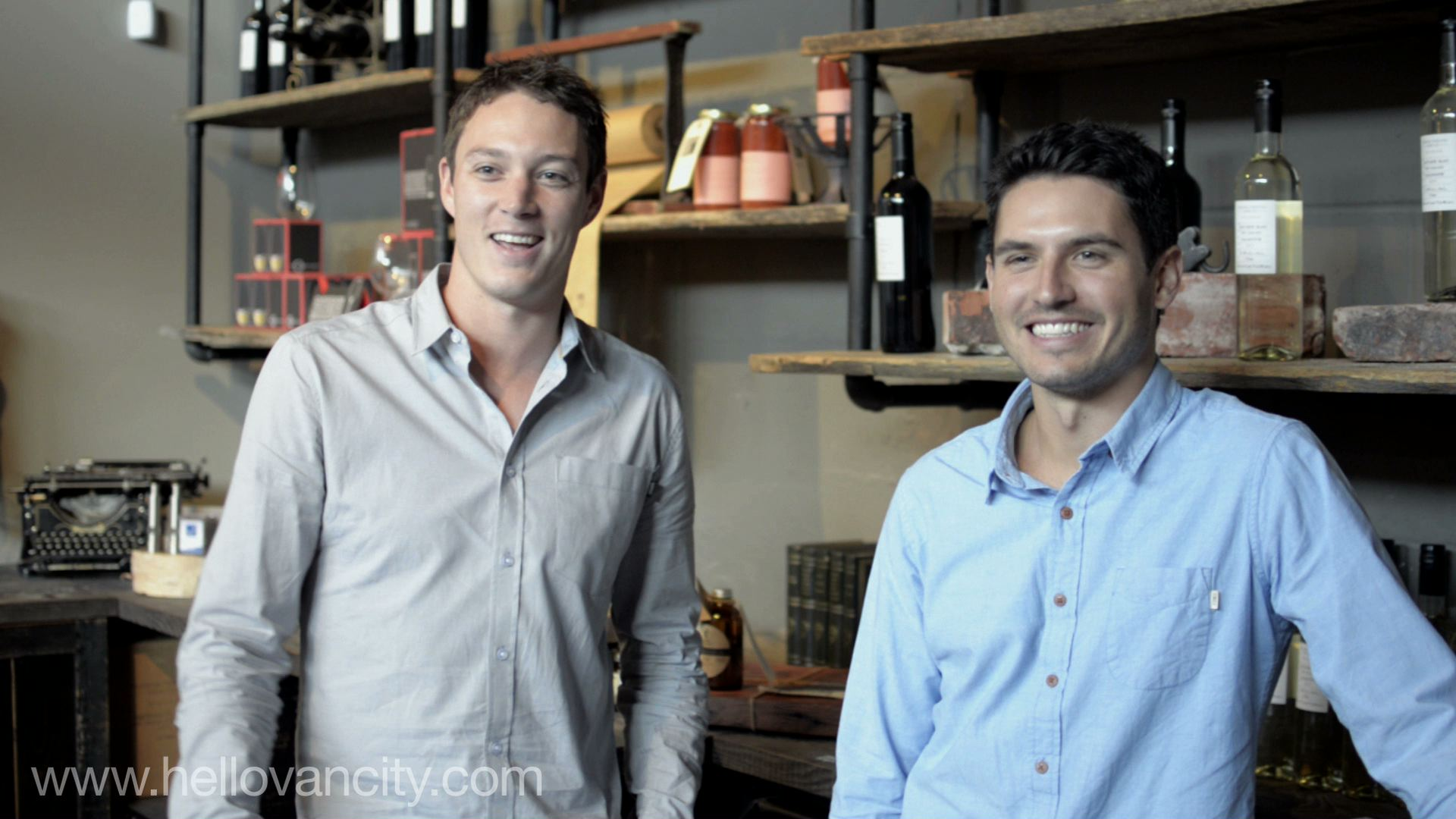 Mike Macquisten & Steve Thorp, Co-Founders of Vancouver Urban Winery