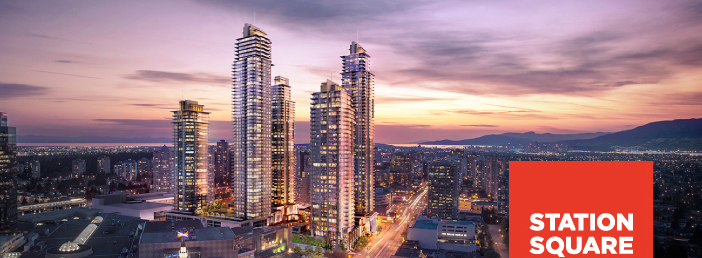 Station Square - Price, Floorplans - Burnaby Metrotown New Condo Development