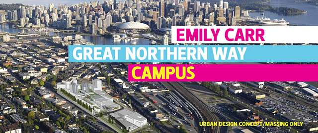 Emily Carr University of Art + Design one step closer to new campus