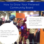 How to Grow Your Pinterest Community Board