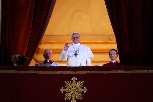 New Pope Announced Cardinal Jorge Mario Bergoglio of Argentina