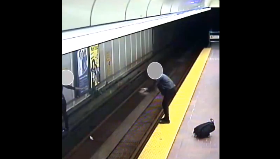 Vancouver teen risks life in suspected graffiti incident at SkyTrain station