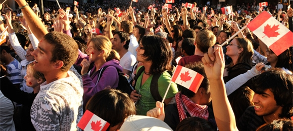 Canada Day in Downtown Vancouver Parade & Fireworks Schedule 2013