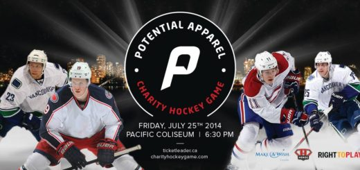 Contest! First ever Potential Apparel Charity Hockey Game