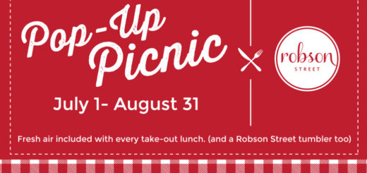 Robson Street Takes a Bite Out of Summer with Pop-Up Picnic