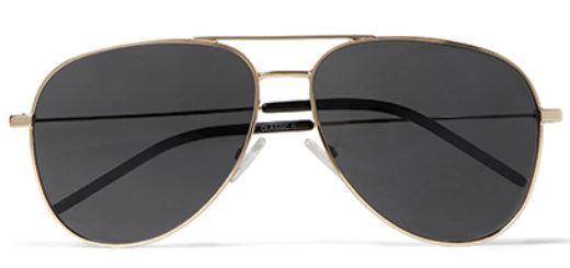 Saint Laurent Classic 11 Aviator Glasses