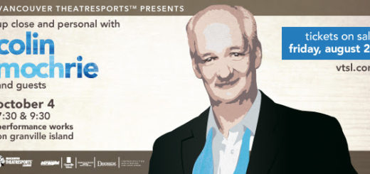 Vancouver TheatreSports presents Up Close and Personal with Colin Mochrie - October 4, 2014