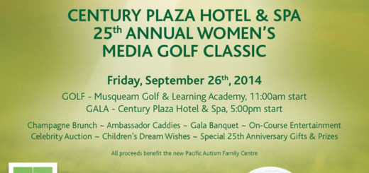 Century Plaza Hotel and Spa's, Women's Media Golf Classic Swings into 25th Year Fundraising For BC's Special Kids