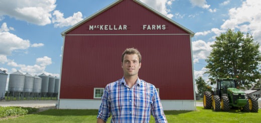 Jacob MacKellar Canada's First Edamame Farmer