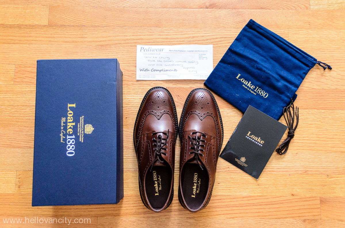 10431c47 Review: Loake 1880 Badminton country brogue from Pediwear - Hello ...