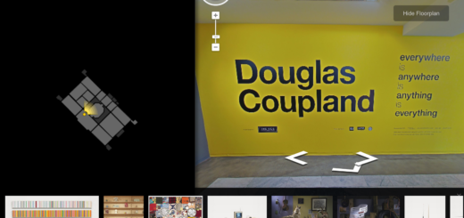 Vancouver Art Gallery and Google Art Project team up to share Coupland's art with the world