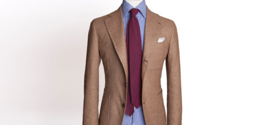 Francesco Serraiocco Cappuccino Brown Solid Jacket