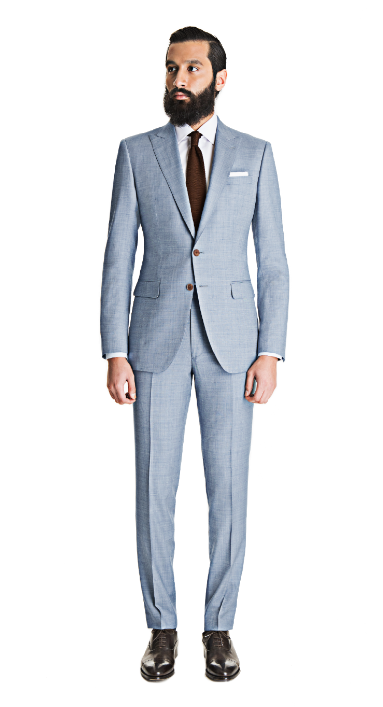 A grey suit – both in light or in darker shades – is a must in every man's wardrobe because of its versatility. And it brings an ease when wearing it with different colour palettes and.
