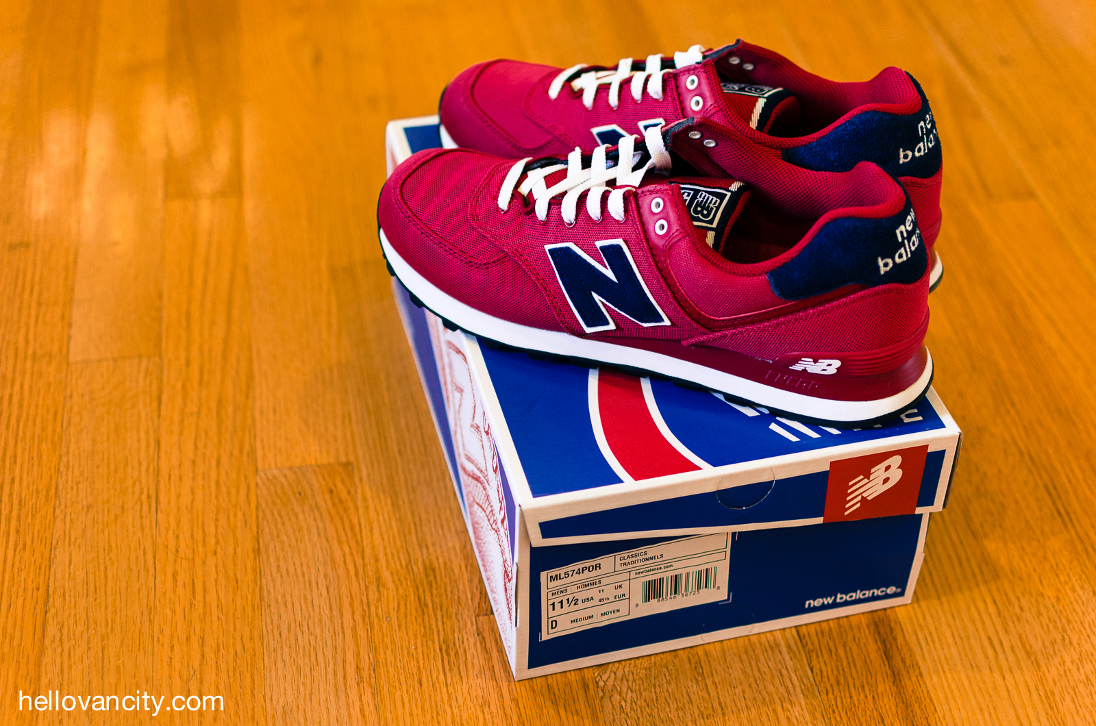 Sneaker Unboxing: New Balance 574 Pique Polo Pack