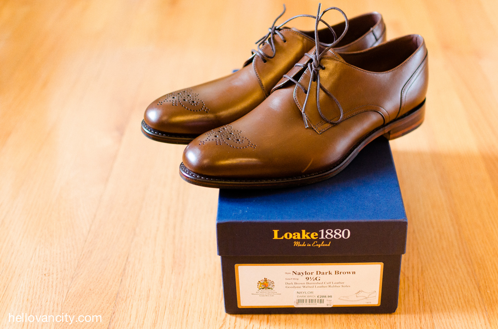 d6ed13d4 Review: Loake 1880 Naylor derby shoes