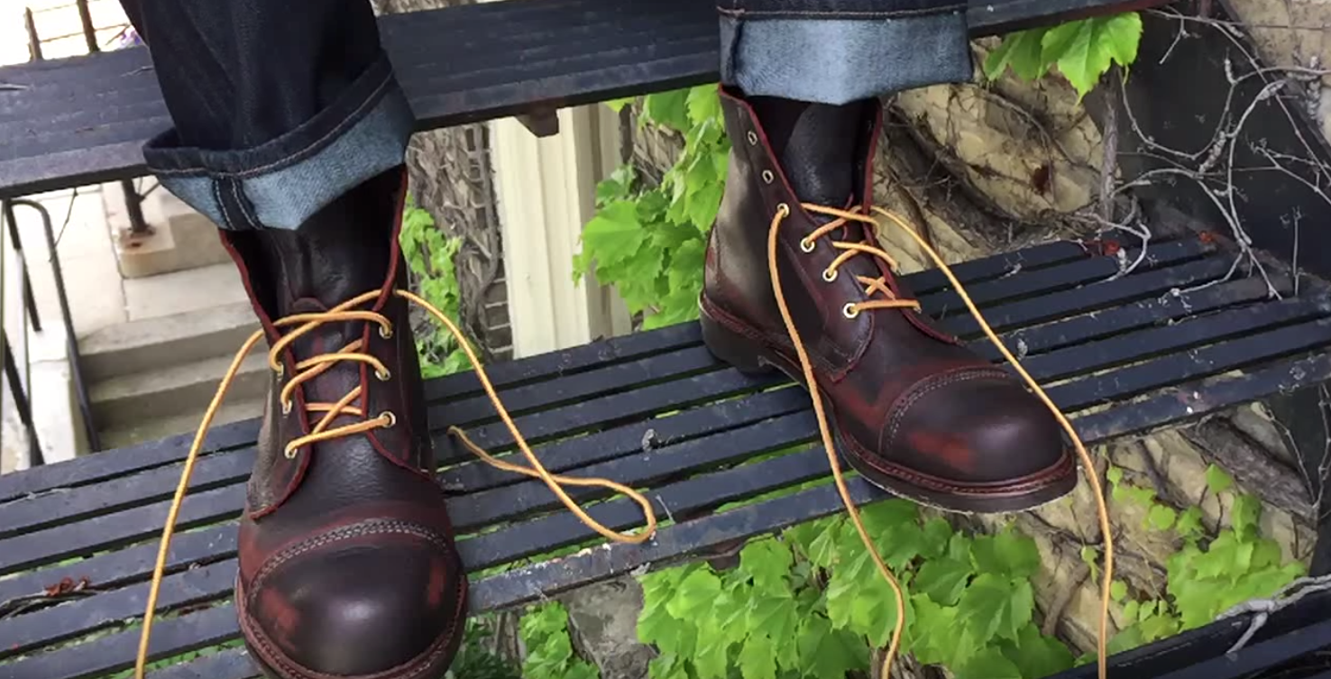4a2eaa409 How to Lace the Allen Edmonds Normandy Boot