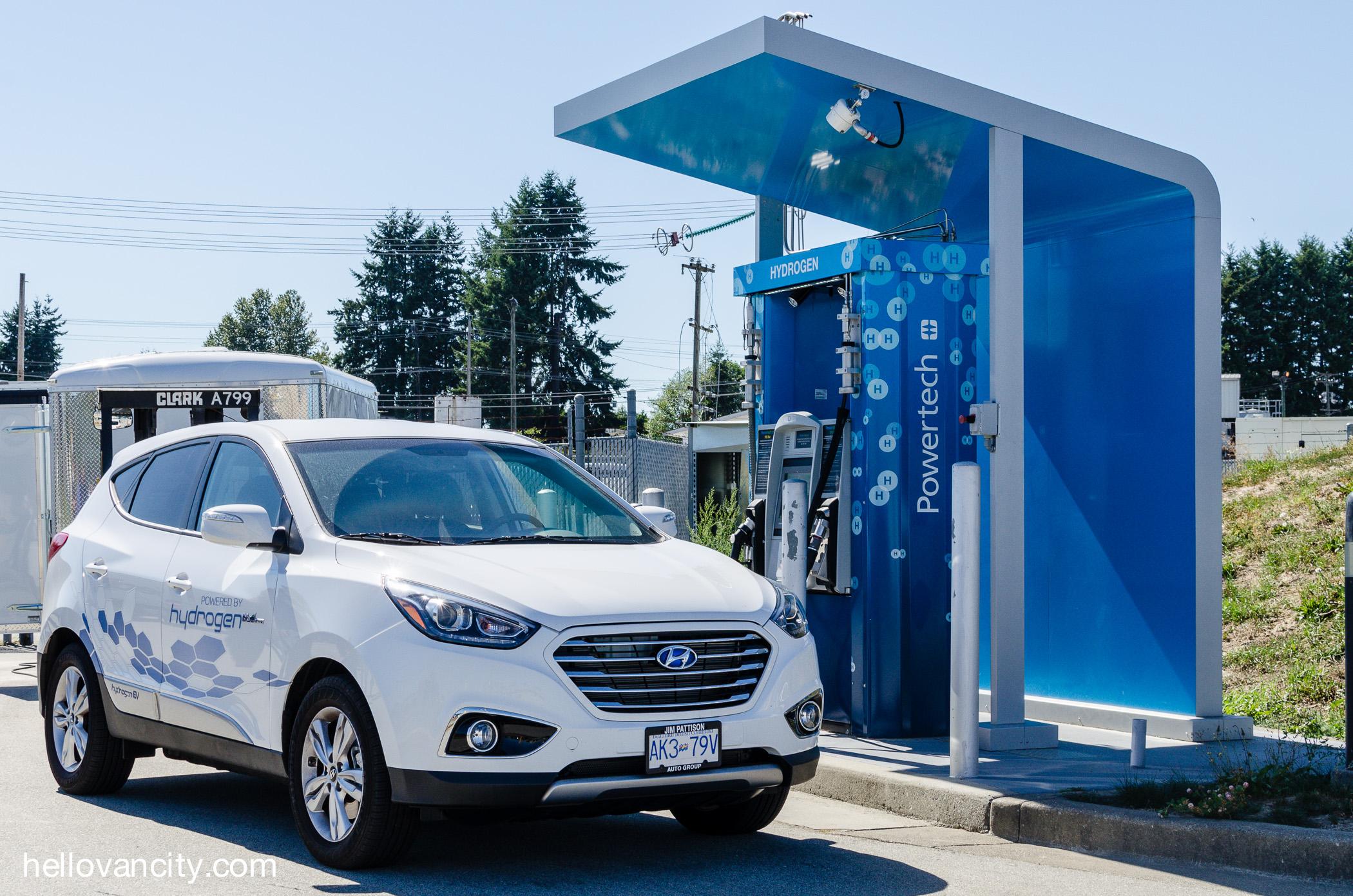 Review 2015 Hyundai Tucson Hydrogen Fuel Cell Cuv Hello Vancity