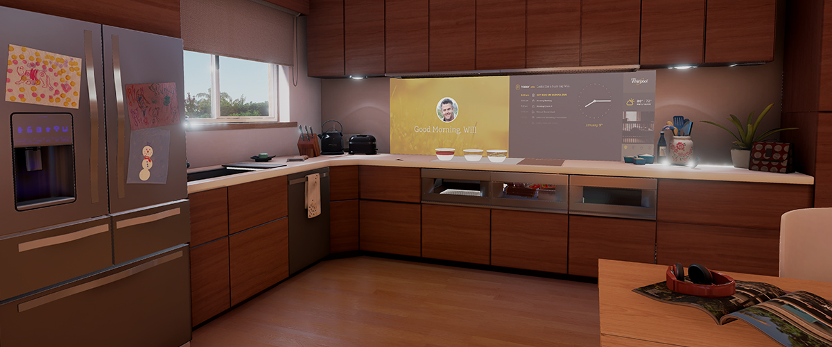 Whirlpool Smart Kitchen Concept Demos the Future of a Day of Care ...