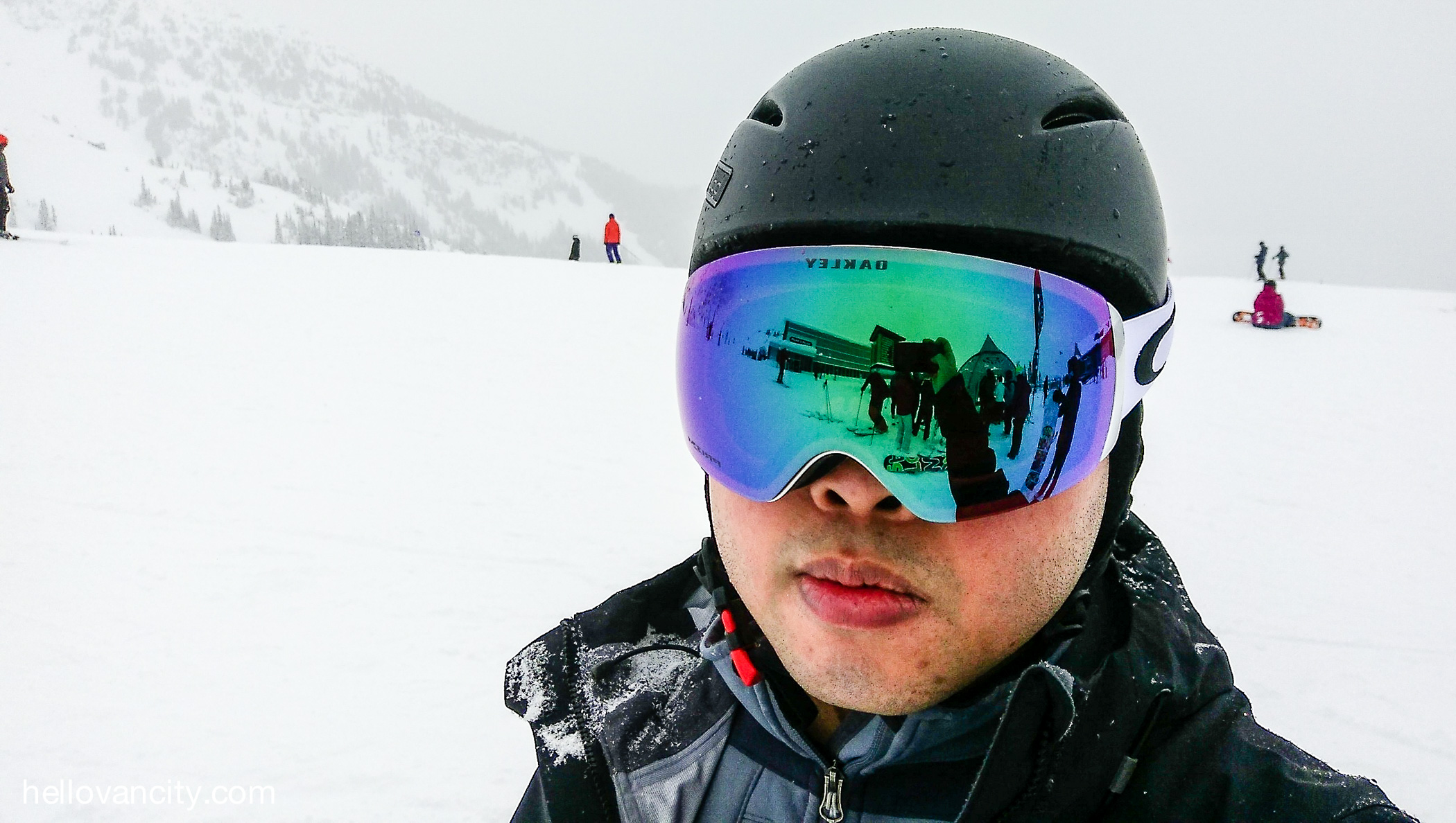 oakleys snowboarding goggles  Review: Oakley Prizm Snow Goggles in Whistler - Hello Vancity