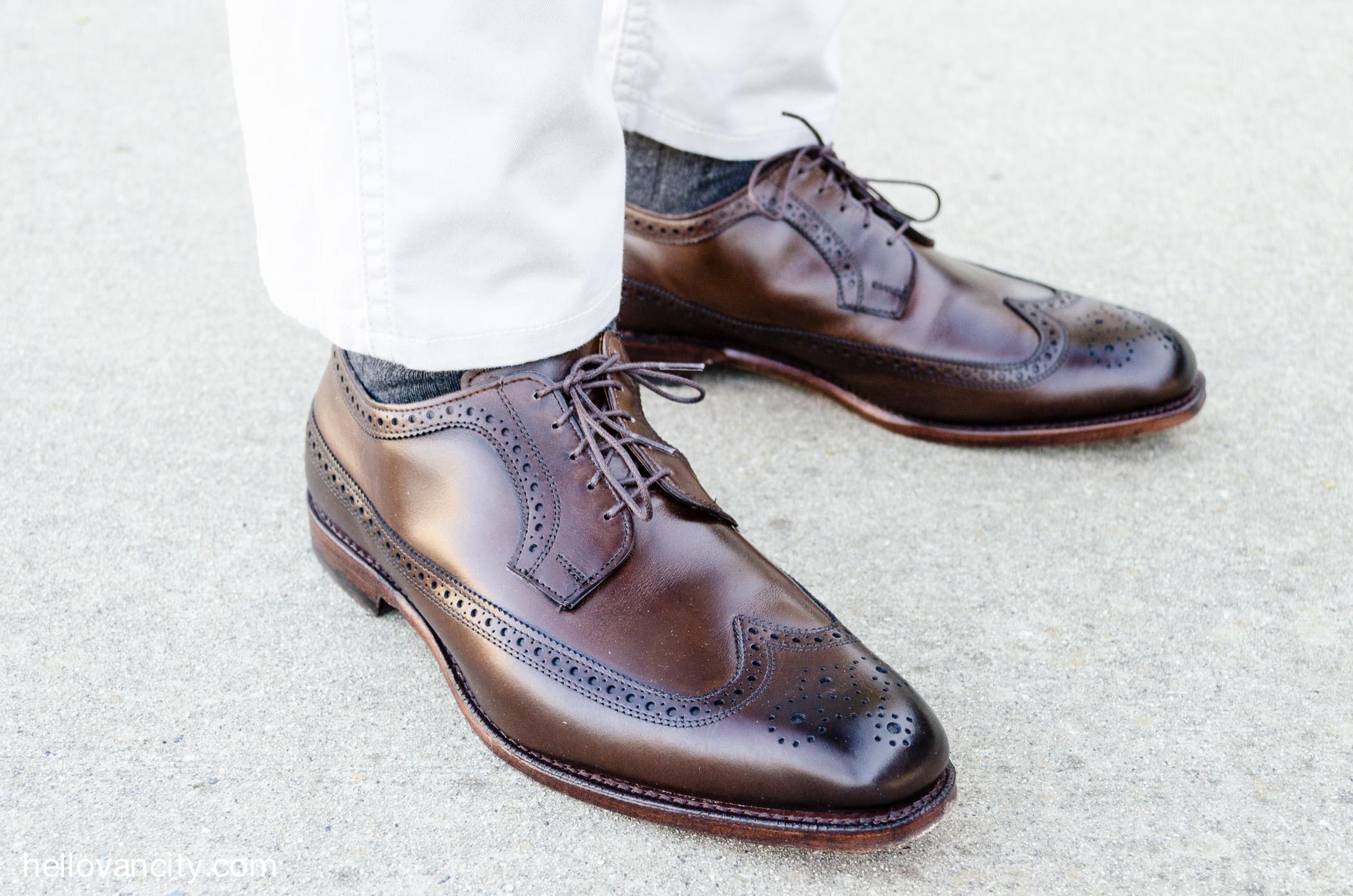 Blucher Wingtip Dress Shoe
