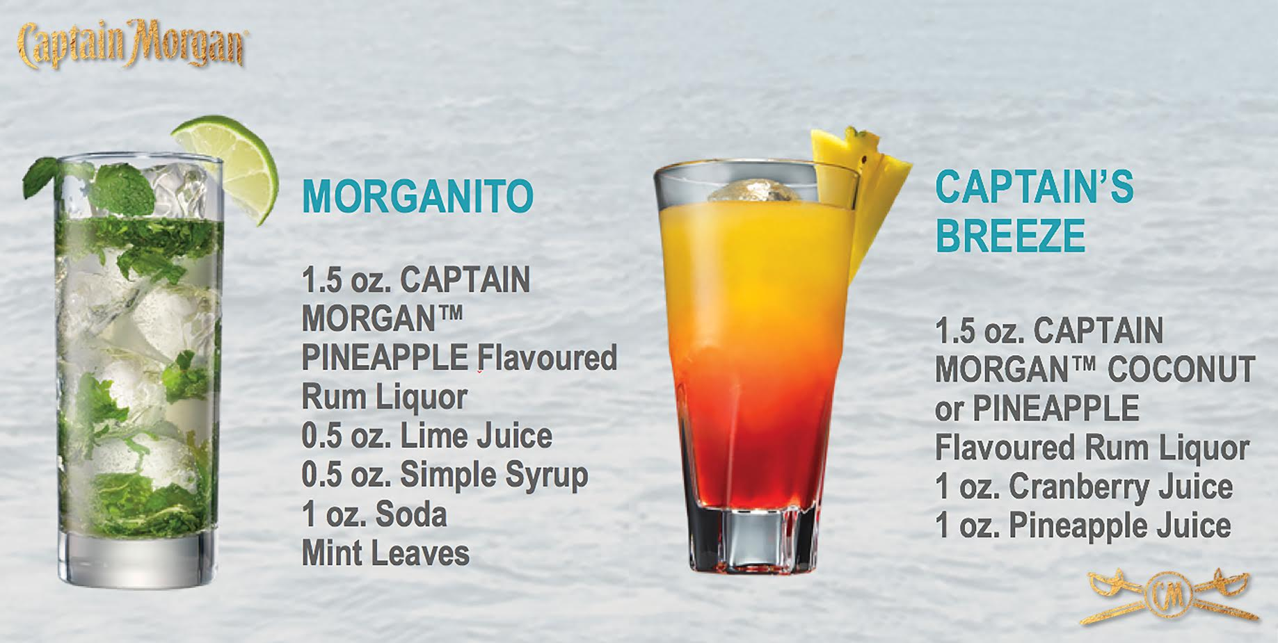 Captain Morgan Pineapple Rum Cocktails Hello Vancity