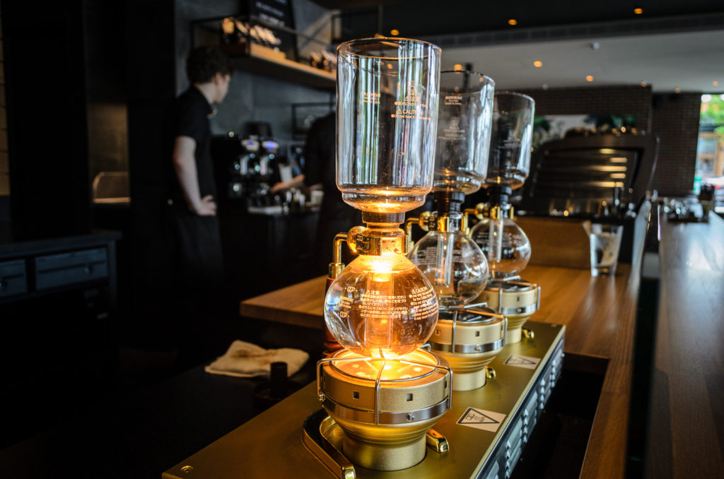 Starbucks Siphon Coffee Maker : Starbucks first Reserve Coffee Bar in Western Canada opens in Mount Pleasant, Vancouver - Hello ...