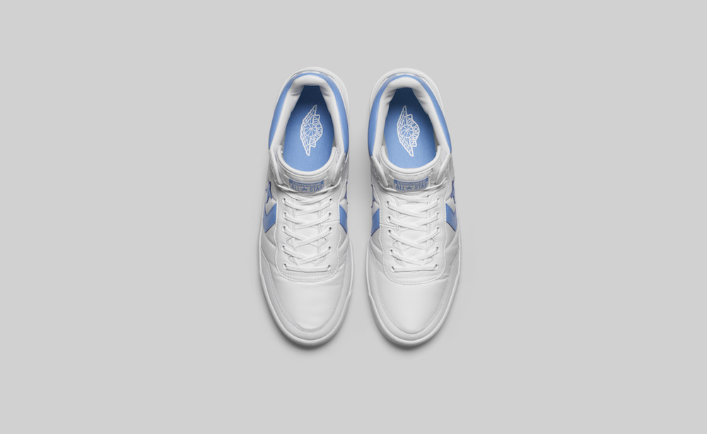cecadf6d8aa4 This limited edition 2-pack includes the Air Jordan II PE and Converse  Fastbreak and will be available on June 28th at Livestock