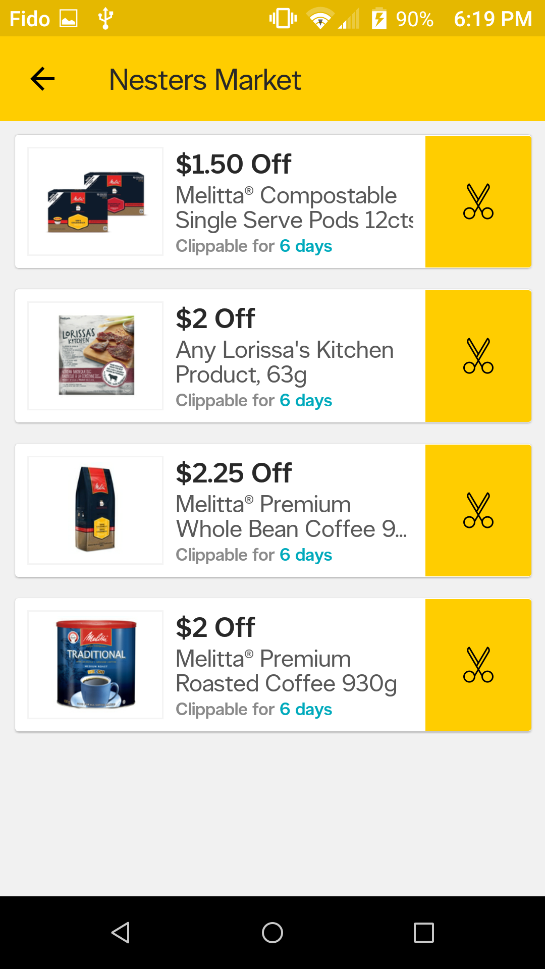 Coupons apps for groceries