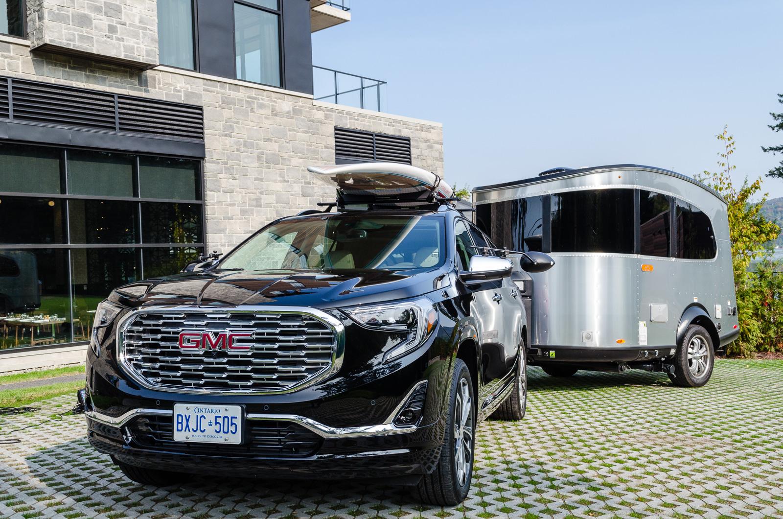 2018 gmc terrain test drive in lac beauport quebec. Black Bedroom Furniture Sets. Home Design Ideas