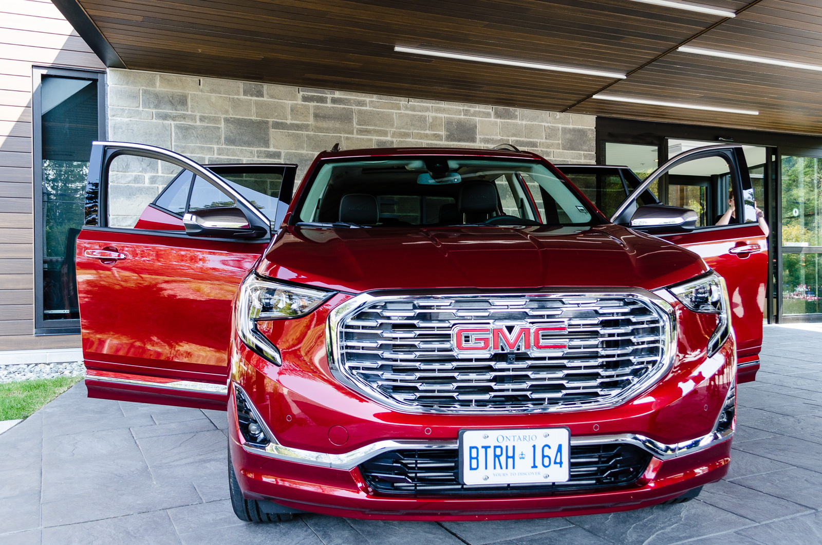2018 Gmc Terrain Test Drive In Lac Beauport Quebec