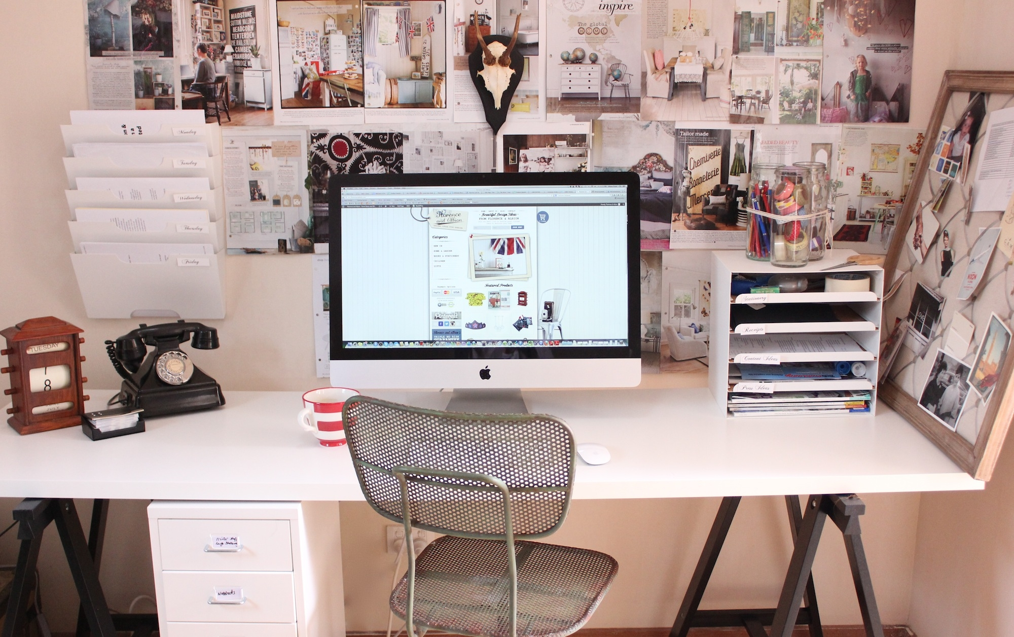 6 Ways To Turn Your House Into A Productive Home Environment: 6 Tips To Create An Organized & Productive Home Office