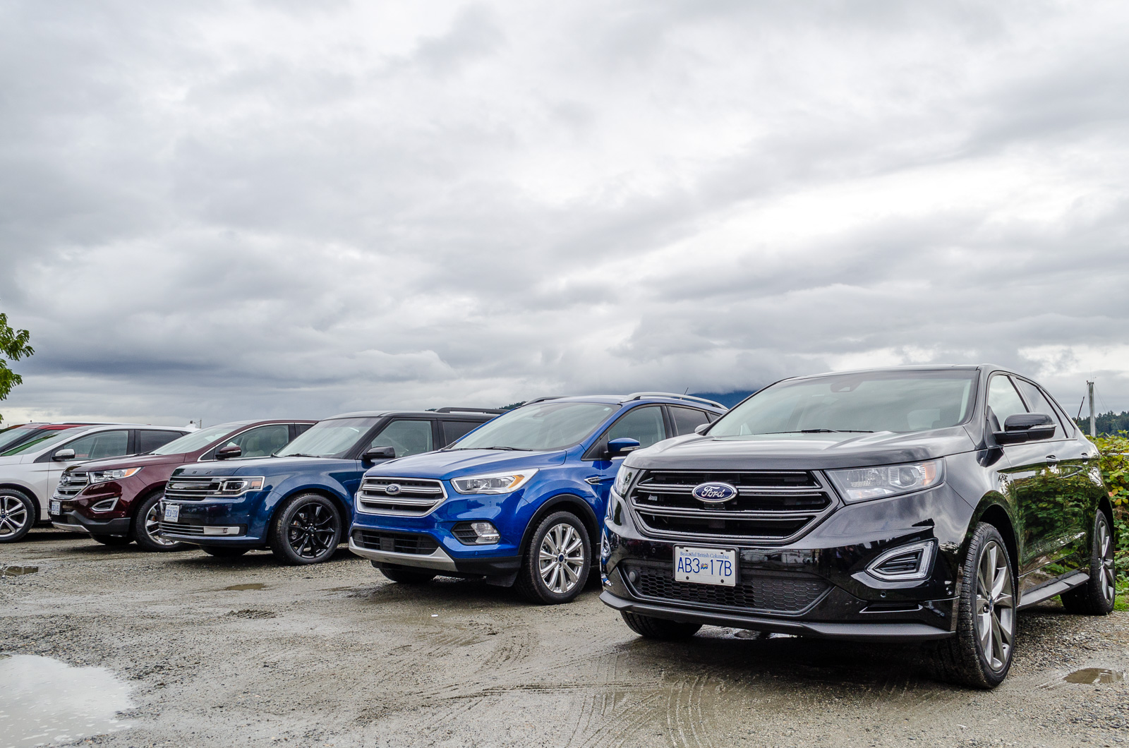 We recently got invited to test drive fords 2017 suv line up in the sunshine coast ford offers customer a diverse choice from compact crossover to luxury