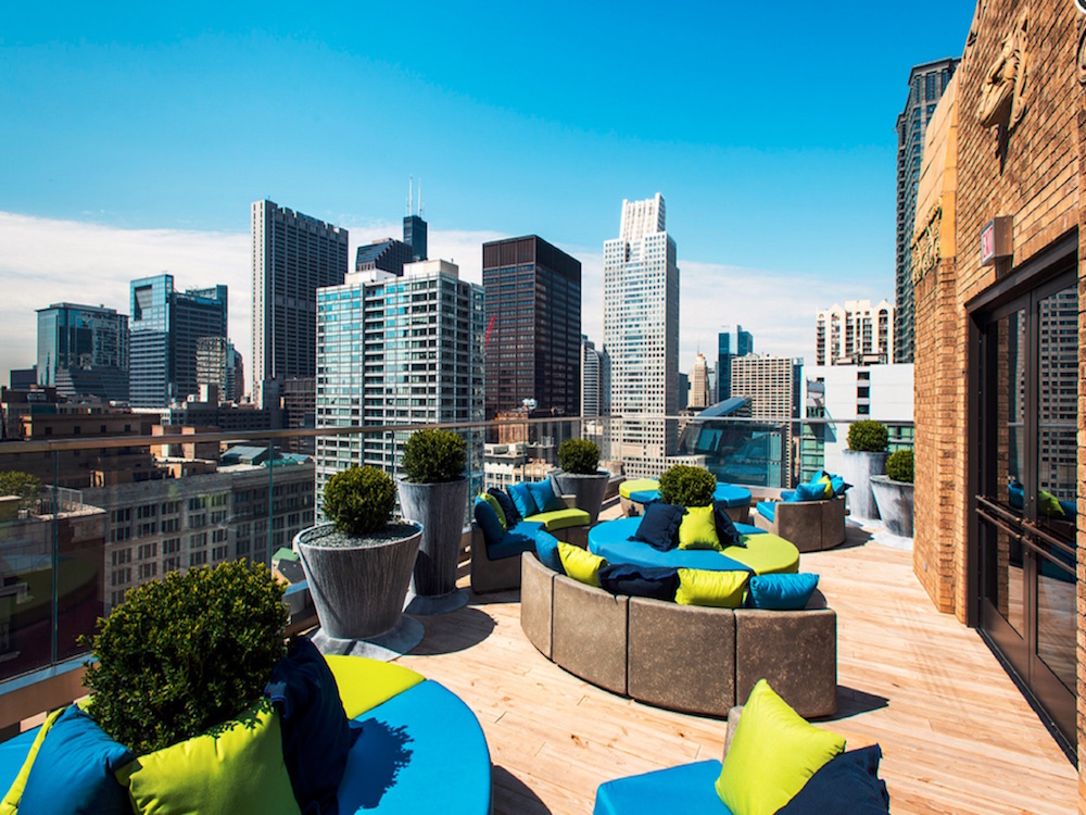 Top tech hotels around the world hello vancity for Chicago hotels