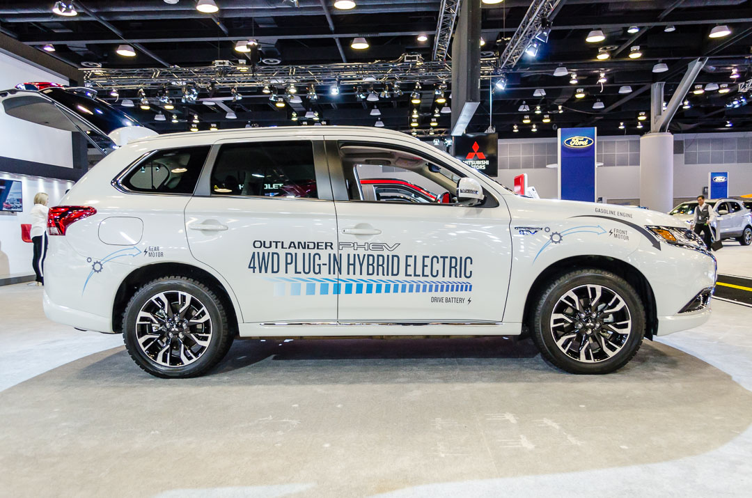 Mitsubishi Outlander PHEV is the world's best-selling plug