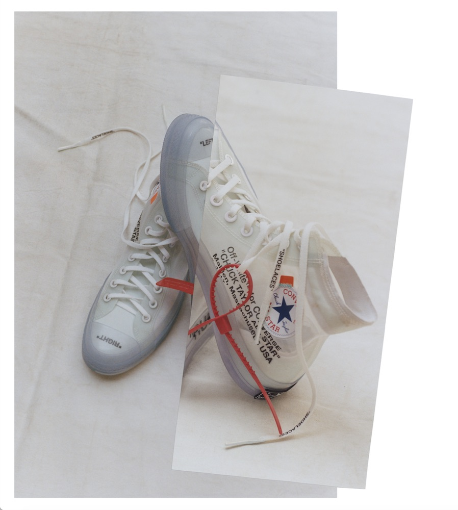 "8a38f284181b How to cop Converse x Virgil Abloh Off White ""The Ten"" Chuck 70 ..."